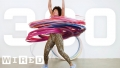 Hoola-Hooping to the max - over 300 hoops