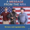 The rights to own guns in America - the funny version